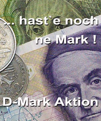 Aktionsfeld D-Mark