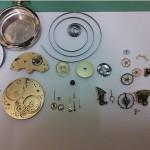 Audemars Fere´s Taschenuhr komplet zerlegt