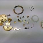 Nivrel Armbanduhr Automatik zerlegt