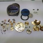 Vintage Armbanduhr Dugena automatik komplett zerlegt