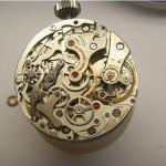 Vintage Heuer Leonidas Handaufzug Chronograph Werkansicht