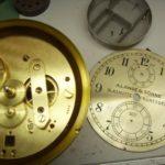 A.Lange & Söhne Schiffschronometer Ziffernblatt und eingebautes Werk