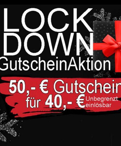 Aktionsfeld Lockdown Gutschein